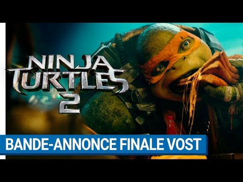 NINJA TURTLES 2 - Bande-annonce finale VOST
