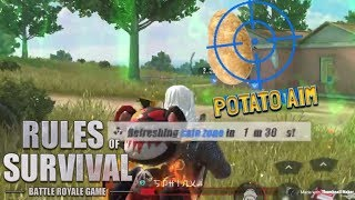 THE ART OF POTATO AIM - Rules of Survival (Tagalog)