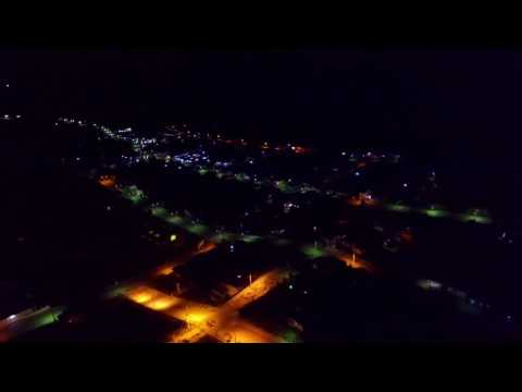 DRONE PHANTOM 3 PALMA RS CITY NIGHT