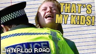 Kelly Children Are Taken Away From Rose   Waterloo Road