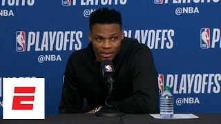 Russell Westbrook: Jazz fans say 'disrespectful, vulgar' things and 'I don't play that s---' | ESPN
