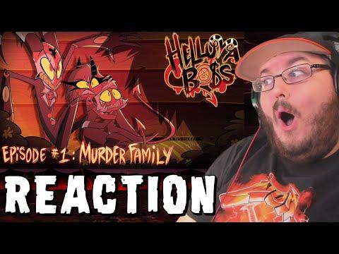 HELLUVA BOSS - Murder Family // S1: Episode 1 (Animation By Vivziepop) REACTION!!!