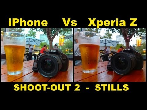 how to setting camera sony xperia z
