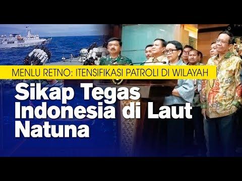 Sikap Tegas Indonesia di Laut Natuna