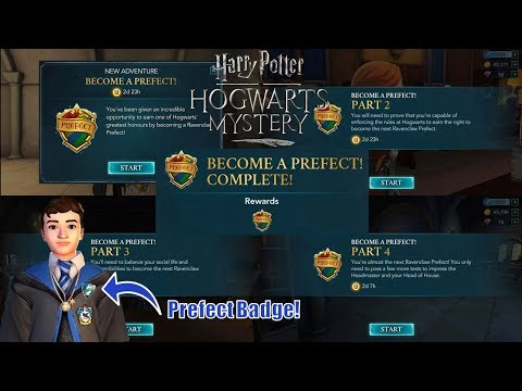 Becoming a Ravenclaw Prefect! - Harry Potter Hogwarts Mystery (Year 4 Side Quest)