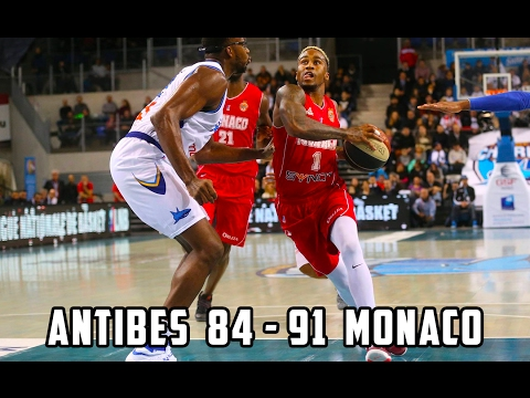 Pro A — Antibes 84 - 91 Monaco — Highlights