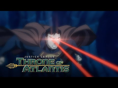 Aquaman saves Superman and The Justice League | Justice League: Throne of Atlantis