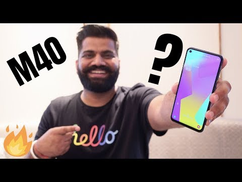 Samsung Galaxy M40 Unboxing & First Look - Best of M Series 🔥🔥🔥