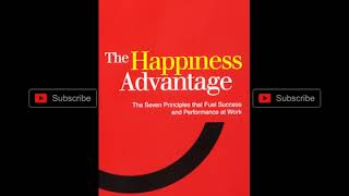The Happiness Advantage Audiobook for  successful business leadership positive practical psychology