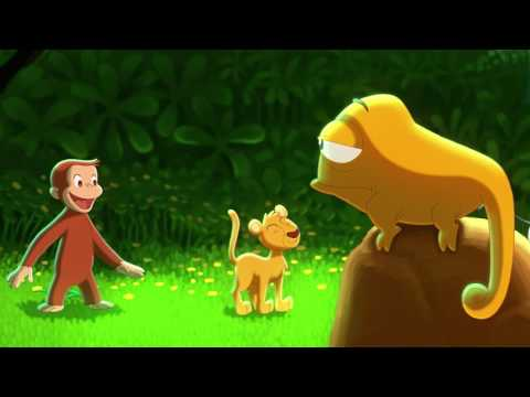 Curious George (1/5) - Upside Down (Song) HD