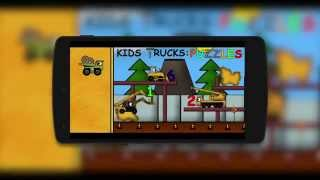 Kids Trucks: Puzzles YouTube video