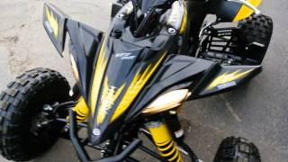 4. 2012 Yamaha YFZ450R Special Edition Yellow & Black