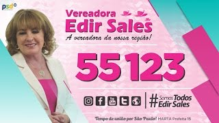 Vereadora Edir Sales - 55123 | Eleição 2016