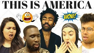 Video British People React To Childish Gambino - This Is America (Official Video) MP3, 3GP, MP4, WEBM, AVI, FLV Agustus 2018