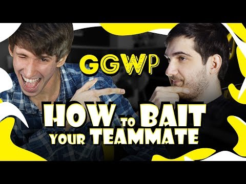 GGWP: Dendi vs RodjER - How to bait your teammate