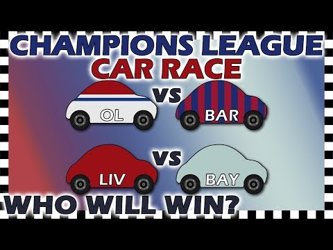 Country Cars Champions League Lyon Vs Barcelona - Liverpool Vs Bayern Munich - Round Of 16