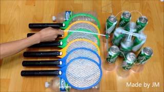 Electrostatic Motor Powered By Electric Fly Swatter