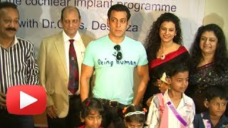Salman Khan Spends Time With Underprivileged Children At A Hospital