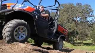 3. REVIEW: Kubota RTV-X1120D UTV