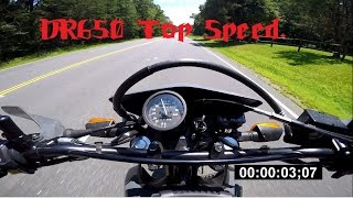 3. Suzuki DR650 Top Speed