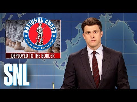 Weekend Update on National Guard at Mexican Border - SNL