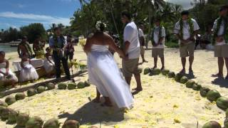 Ngatangiia Cook Islands  city photos : JOSH & OLLY's Wedding - Cook Islands
