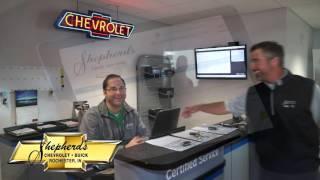 Shepherd's Chevrolet - Buick Service Ad
