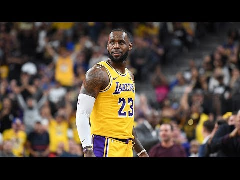 Video: The LeBron James Lakers era begins