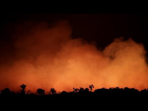 Μαίνονται οι πυρκαγιές στην Αμαζονία