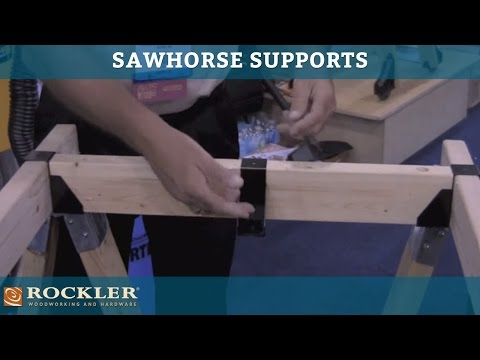 Sawhorse Supports