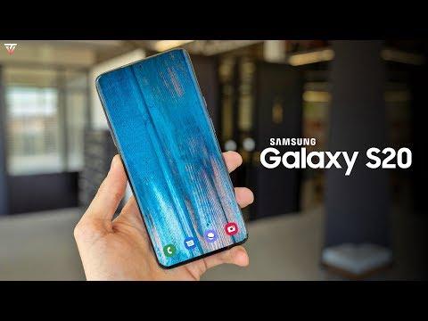 Samsung Galaxy S20 Plus - HANDS ON VIDEO