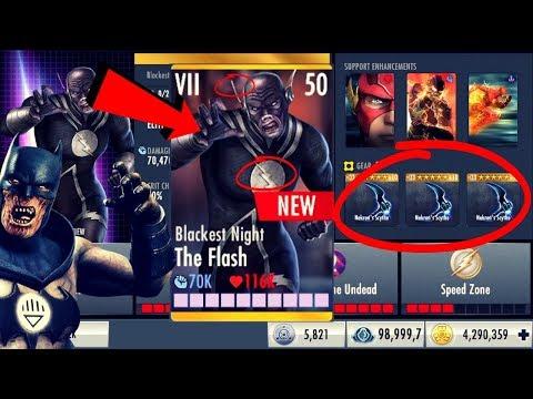 Blackest Night The Flash! Injustice Gods Among Us 3.1! iOS/Android!