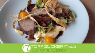 Spreewälder Wildschweinrücken | Pastinake | Rosenkohl | Rote Bete | Rezeptempfehlung Topfgucker-TV