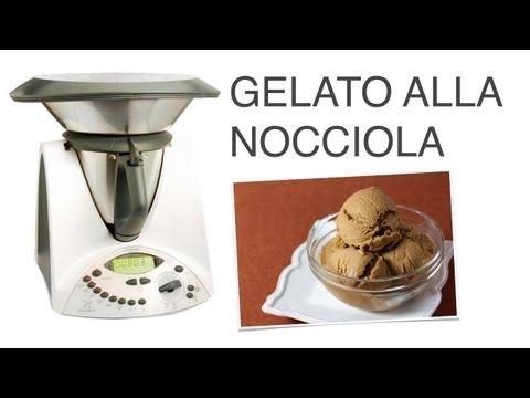 video ricetta: bimby - gelato alla nocciola