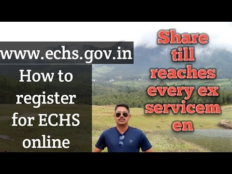 ECHS SMART CARD APPLY ONLINE