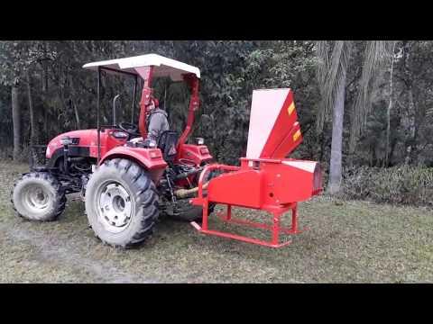 Triturador de galhos Lippel - Bio 800 T - Trator