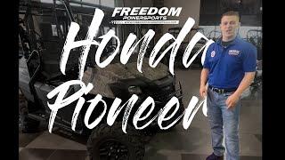 3. 2020 Honda Pioneer 700-4 Deluxe