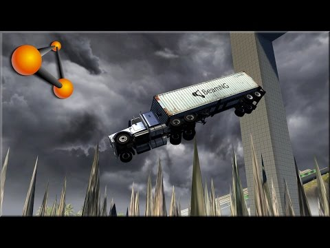 BeamNG Drive Stairway To Hell & Pit Of Death Revisited 900k Thank You - Insanegaz