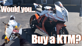 5. BUY IT? KTM RC8 R Test Ride + Review