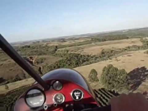 Vôos de ultraleves e trike entre Campos Altos e São Gotardo