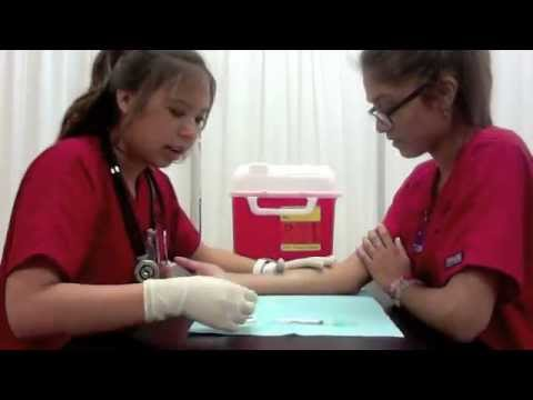 how to perform tuberculosis test