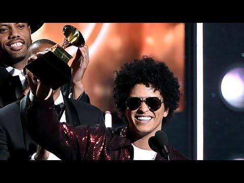 Bruno Mars SWEEPS Huge Categories At 2018 Grammys