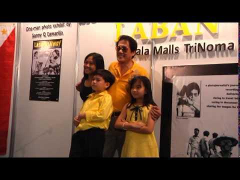 """""""LABAN ni NINOY"""" Photo Exhibit of Sonny Camarillo Opening Program Aug 25, 2013 PART5"""