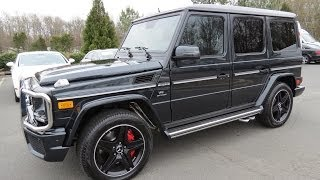 2014 Mercedes-Benz G63 AMG Start Up, Exhaust, And In Depth Review