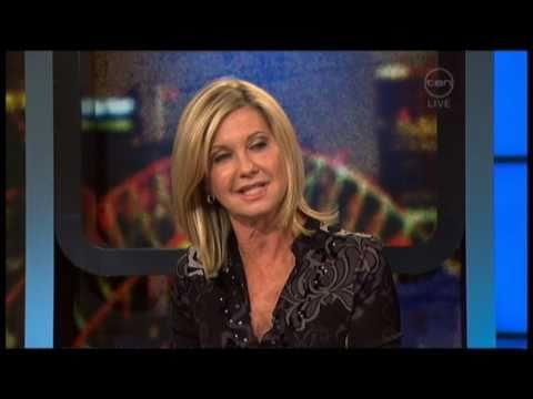 Olivia Newton-John interview - The 7pm Project (Australia) - Livwise