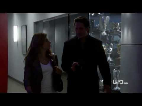 """Necessary Roughness - 1x05 - Dani and Nico - """"I'm concerned for your safety"""""""