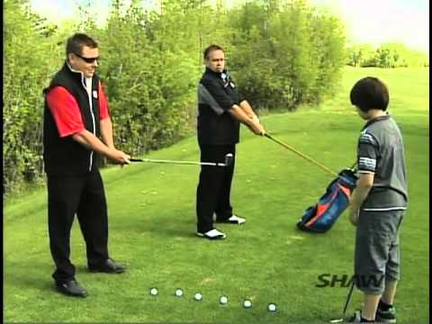 Junior Golfing Tips on Proper Club Sizing and Grip – Shaw TV Golf Tips – Mckenzie Meadows