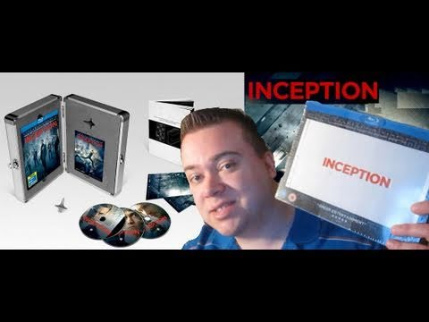 Inception Blu-Ray Briefcase Limited Edition Unboxing Review