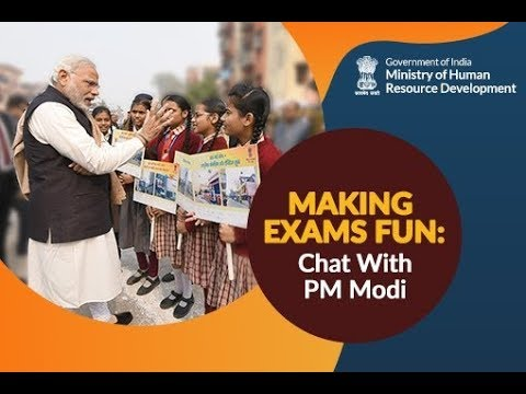 PM Modi's interaction with students from across India on stress free examinations :  Feb 16, 2018