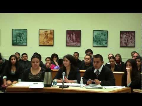 Video: Mock Trial Youth 12/14/12